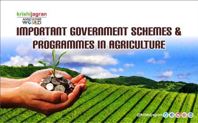 Government Schemes For Farmers In India 2020 - Farmer Foto ...