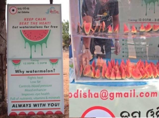 Watermelons in Odisha
