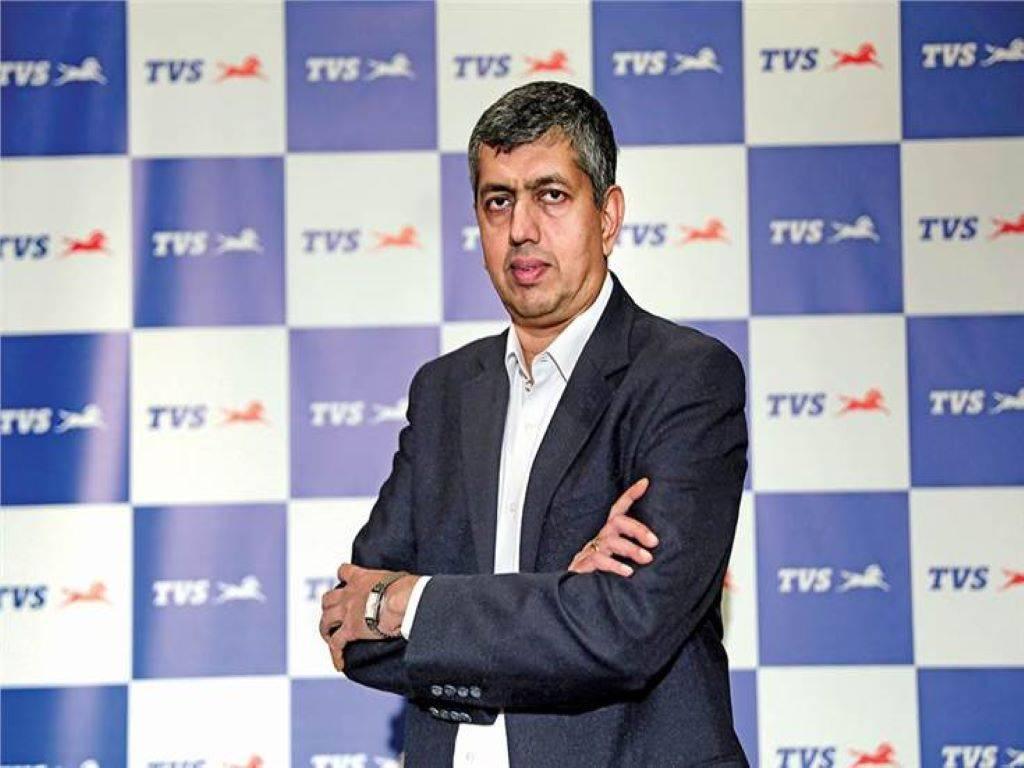 KN Radhakrishnan - Director and Chief Executive of TVS Motor Company Ltd
