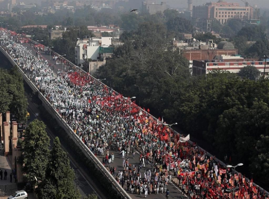 A march to Delhi
